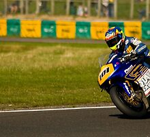 The Blue Rider, Croft Circuit, Darlington, 2009 by JRMPhotography