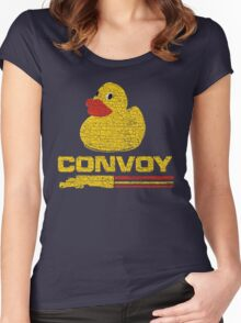 Vintage Convoy T-shirt Women's Fitted Scoop T-Shirt