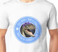 Velociraptor Punkrocker 2.0 Unisex T-Shirt