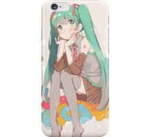 Miku - colors iPhone Case/Skin