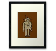 Vintage Robot by Chillee Wilson Framed Print