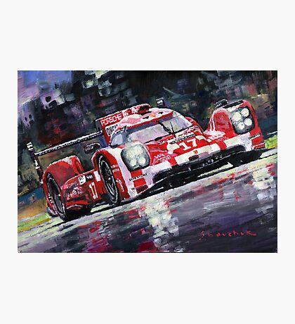 2015 Le Mans 24H Porsche 919 Hybrid Photographic Print