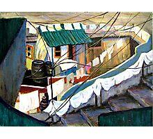 Dhobi's House Photographic Print