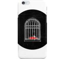Living & Dying in a Cage iPhone Case/Skin
