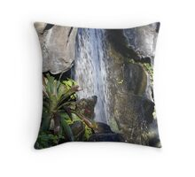 Restful Fountain Throw Pillow