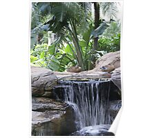 Restful Fountain Poster