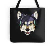 Headphone Wolf Tote Bag