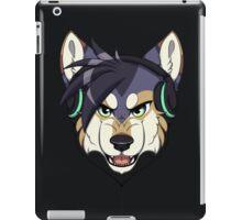 Headphone Wolf iPad Case/Skin