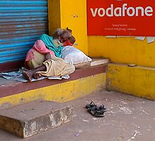 Vodafone - Varkala, Kerala (India)  by Gorper
