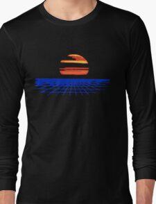 Digital Sunset T-shirt Long Sleeve T-Shirt
