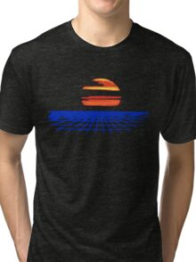 Digital Sunset T-shirt Tri-blend T-Shirt
