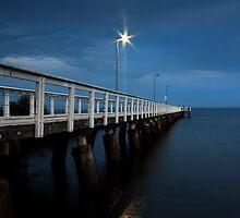 Wellington Point Jetty by Beth  Wode
