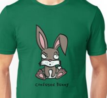 Confused Bunny Unisex T-Shirt