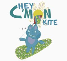 Hey C'mon Kite Kids Tee