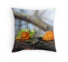 Small Jelly ear Throw Pillow