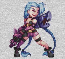 Jinx - pixel art by galegshop