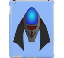 Space Battleship by Chillee Wilson iPad Case/Skin