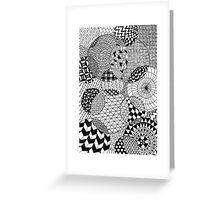 Black&White Greeting Card