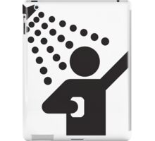 Singing In The Shower, Icon iPad Case/Skin