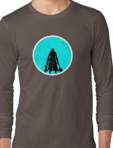 The Sky & Cosmos are Blue Long Sleeve T-Shirt