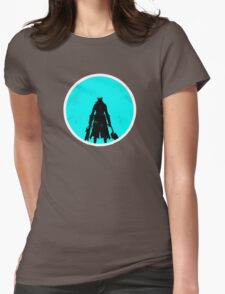 The Sky & Cosmos are Blue Womens Fitted T-Shirt