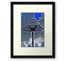 Hoops Heaven Framed Print