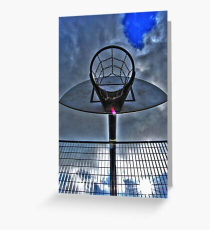 Hoops Heaven Greeting Card