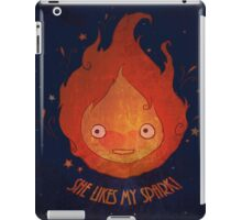 She Likes My Spark! iPad Case/Skin
