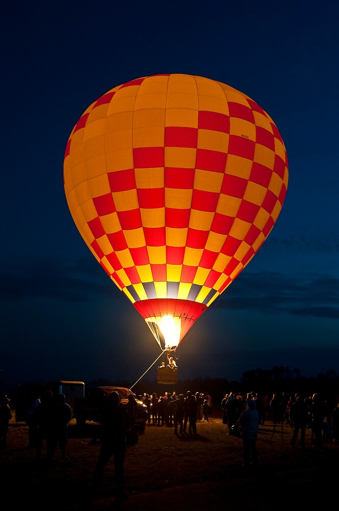 Balloon Glow - Valkaria Air Fest 2010 by Per Hansen