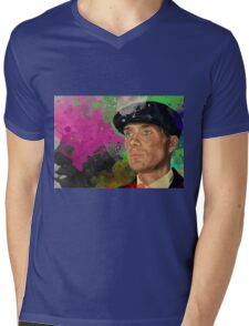 CONTEMPLATION Mens V-Neck T-Shirt