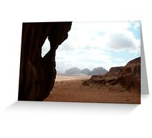 Wadi Rum Greeting Card