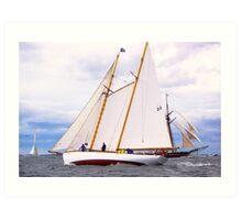 Maritime Speedster Art Print