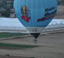On balloon Sticker