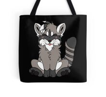 Cute Chibi Raccoon Tote Bag