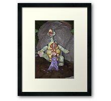 Forest joy Framed Print