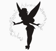 Tinkerbell silhouette Kids Clothes