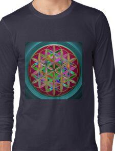 The Flower of Living Metal Long Sleeve T-Shirt