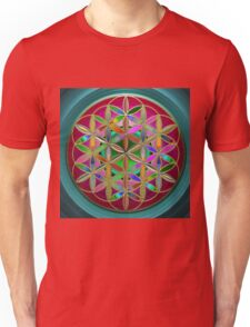 The Flower of Living Metal Unisex T-Shirt