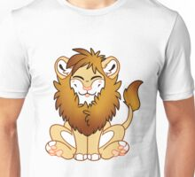 Cute Chibi Lion -male- Unisex T-Shirt