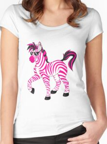 Swag Zebra Women's Fitted Scoop T-Shirt