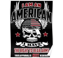 I AM AN AMERICAN Poster