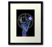 Enchantress of the Shades Framed Print