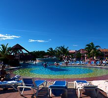 NH Krystal Resort in Cayo Coco, Cuba by Josef Pittner