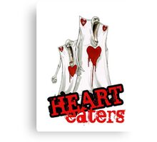 Heart Eaters from Nevermore Alice Canvas Print