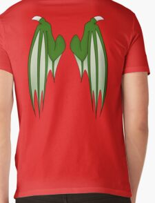 Dragon wings - green Mens V-Neck T-Shirt