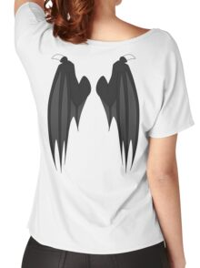 Dragon wings - black Women's Relaxed Fit T-Shirt