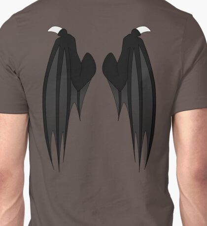 Dragon wings - black Unisex T-Shirt