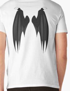 Dragon wings - black Mens V-Neck T-Shirt