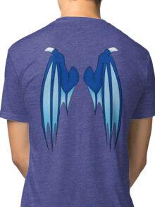 Dragon wings - blue Tri-blend T-Shirt