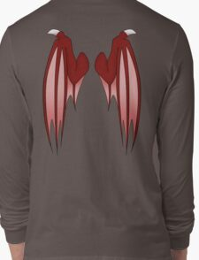Dragon wings - red Long Sleeve T-Shirt